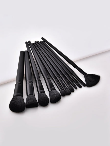Plain Makeup Brush 11pcs