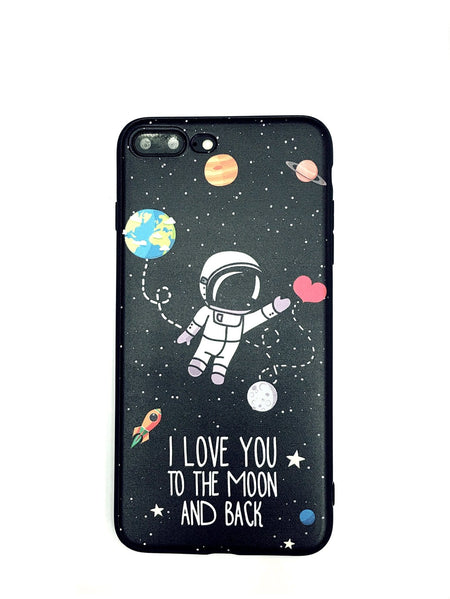 Cartoon Print iPhone Case