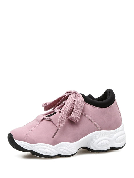Contrast Trim Chunky Sole Trainers