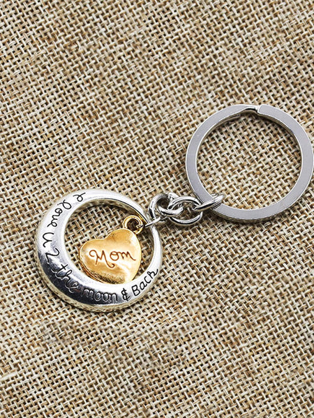 Heart Design Keychain
