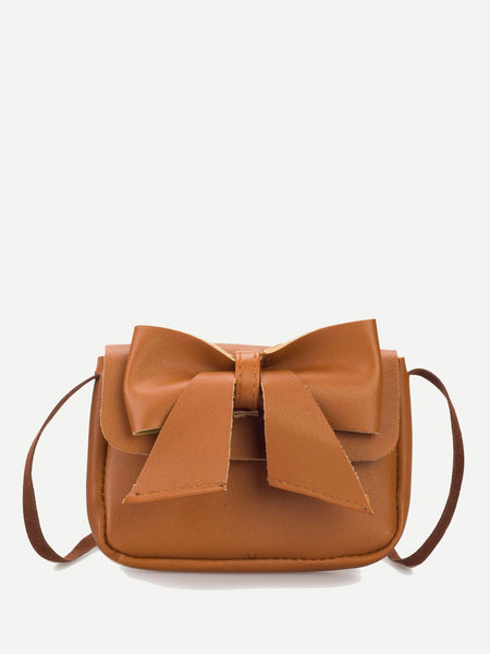 Bow Decor Mini Shoulder Bag
