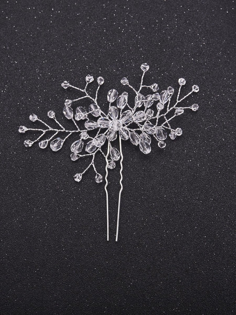 Crystal Decorated Hair Pin