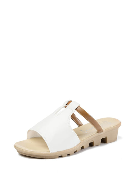 Open Toe Cut Out Sandals