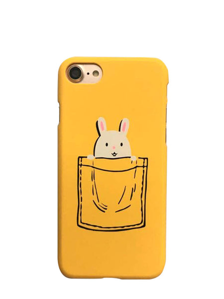 Rabbit Print iPhone Case