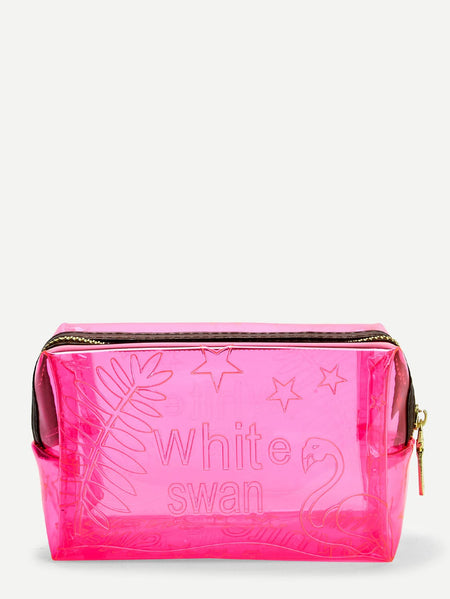 Clear Zipper Makeup Bag