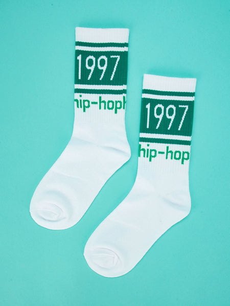 Letter Print Ankle Sock 1pair