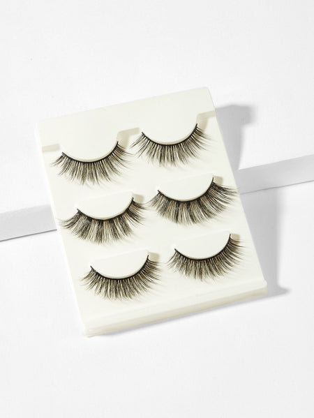 Natural False Eyelashes 3pairs