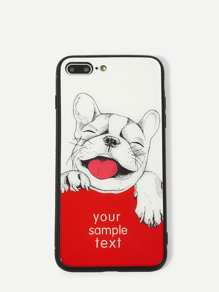 Dog Print iPhone Case