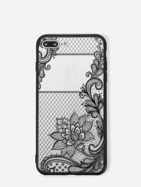 Lotus Detail iPhone Case