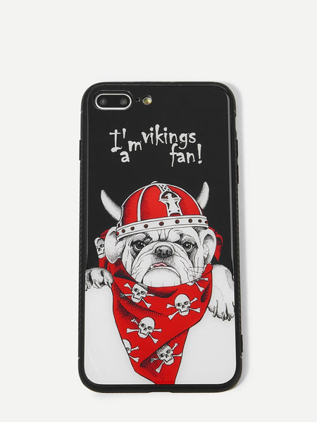 Dog Pattern iPhone Case