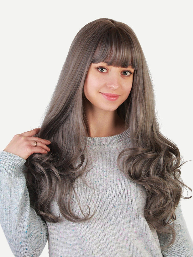 Soft Straight With Bangs 1pc