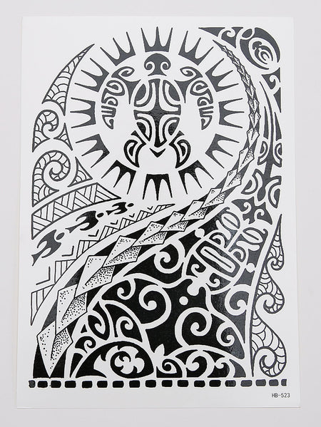 Totem Pattern Tattoo Sticker