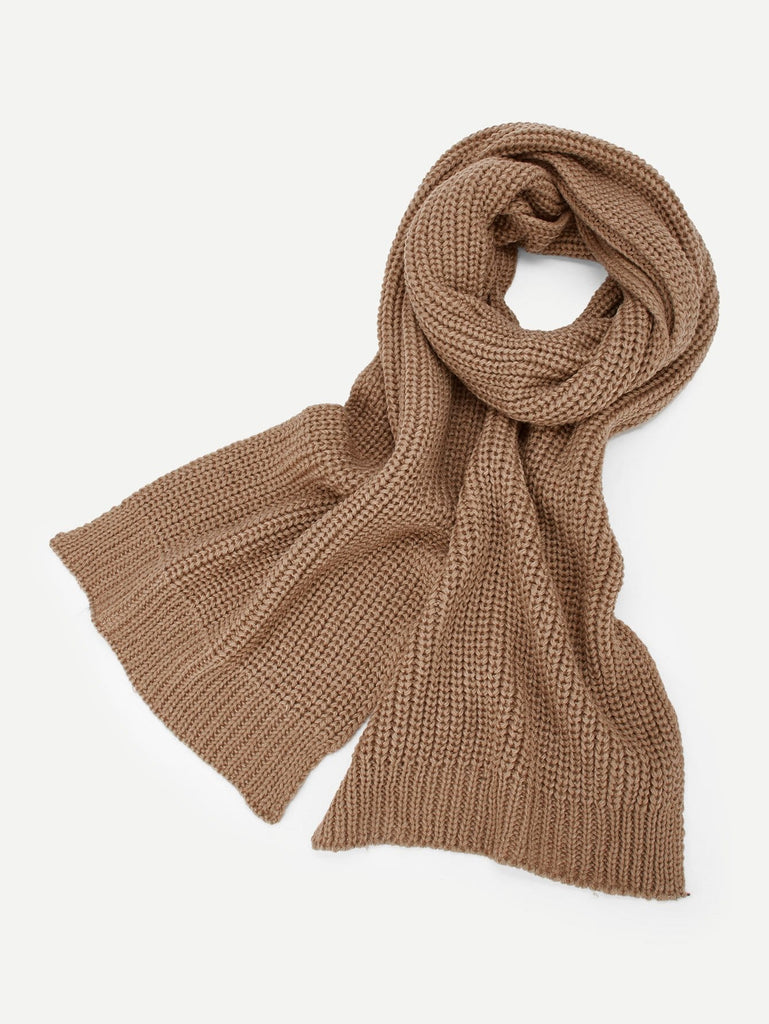 Plain Knit Scarf