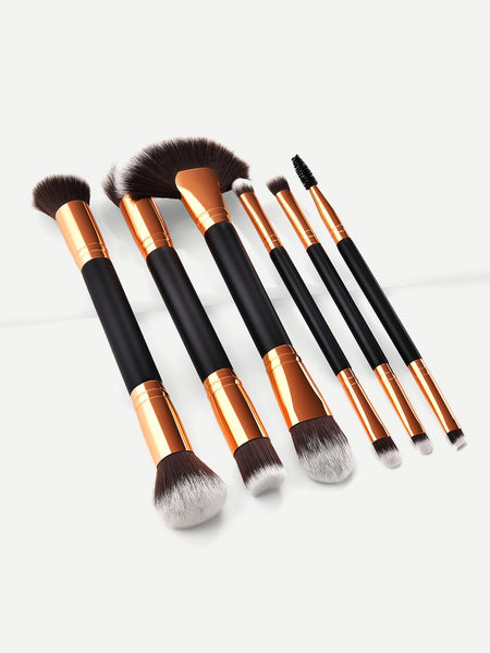 Double Head Makeup Brush 6pcs