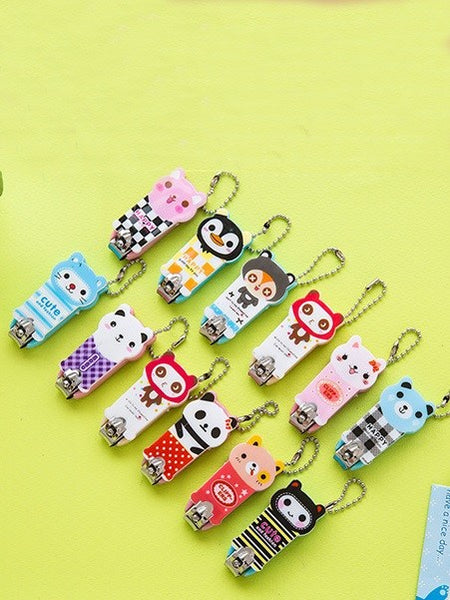 Random Pattern Nail Clippers 1pc