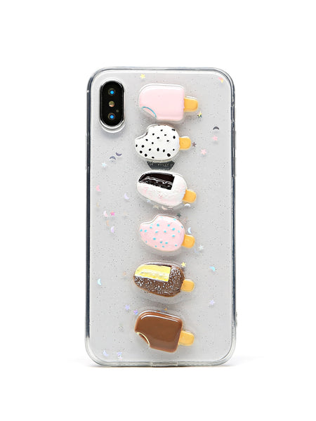 Ice cream Pattern iPhone Case