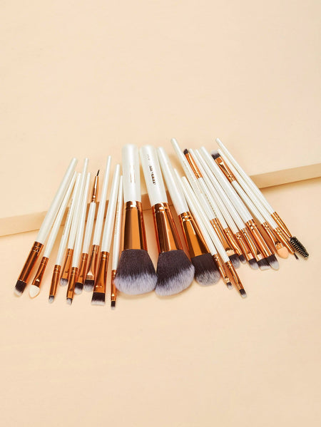 Two Tone Handle Makeup Brush 22pcs