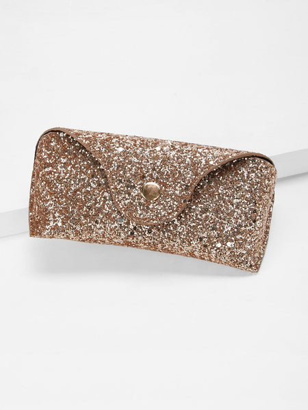 Glitter Glasses Case