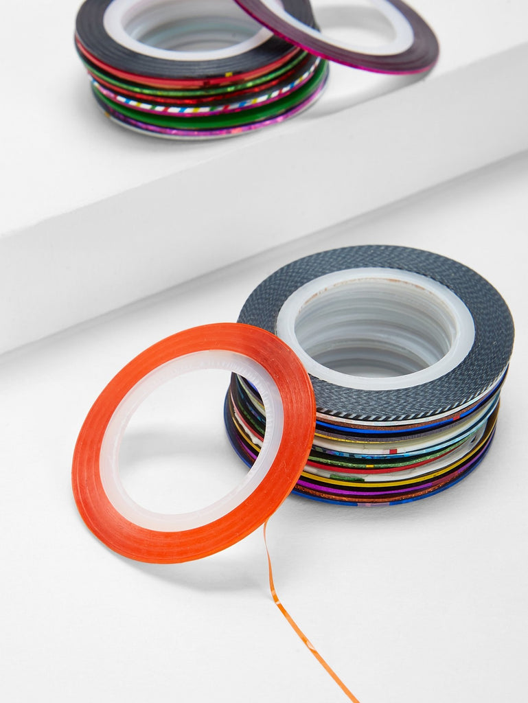 Striping Tape Line Nail Sticker 30pcs