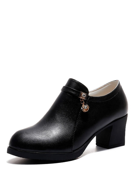 Side Zip Ankle Boots