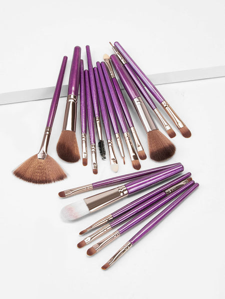 Two Tone Handle Makeup Brush 18pack