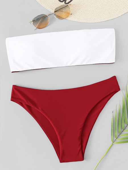 Bandeau Mix & Match Bikini Set