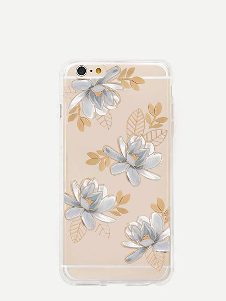 Lotus Pattern iPhone Case