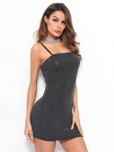 Glitter Thread Cami Dress