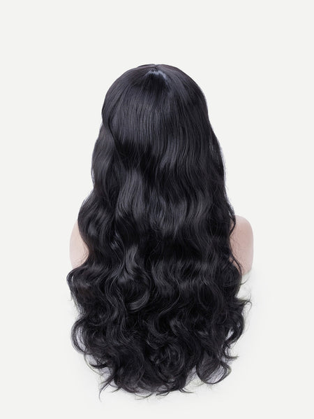 Deep Wave Wig With Bangs