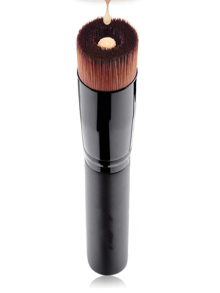 Flat Concave Angled Liquid Foundation Brush