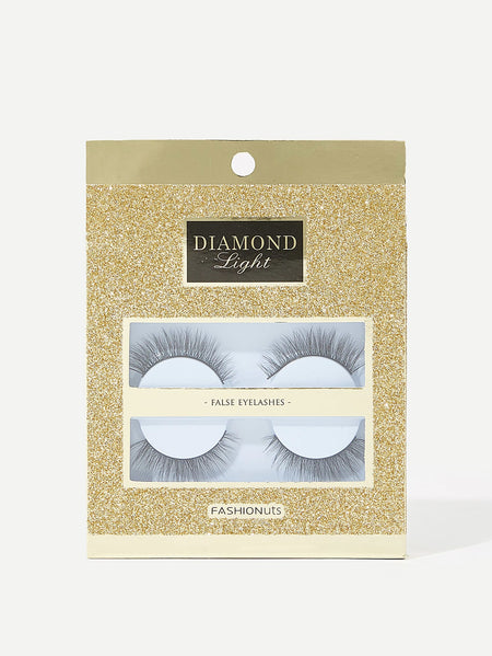 Natural False Eyelashes 2pairs