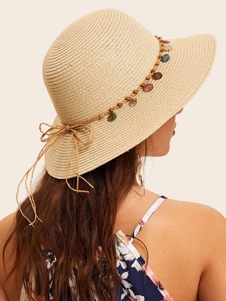 Bow Knot Lace Up Hat