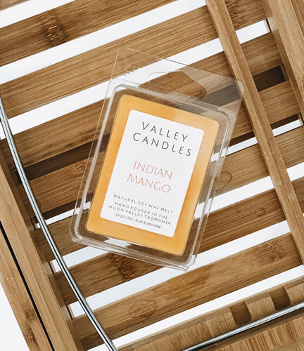 Indian Mango Soy Melt - Valley Candles