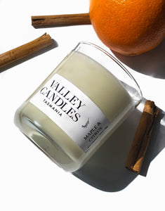 Maple & Citrus Candle