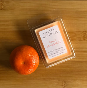 Juicy Mandarin Soy Melt - Valley Candles