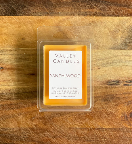 Sandalwood Soy Melts - Valley Candles