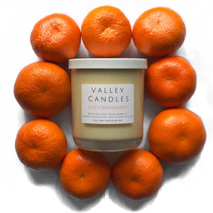 Juicy Mandarin Candle - Valley Candles