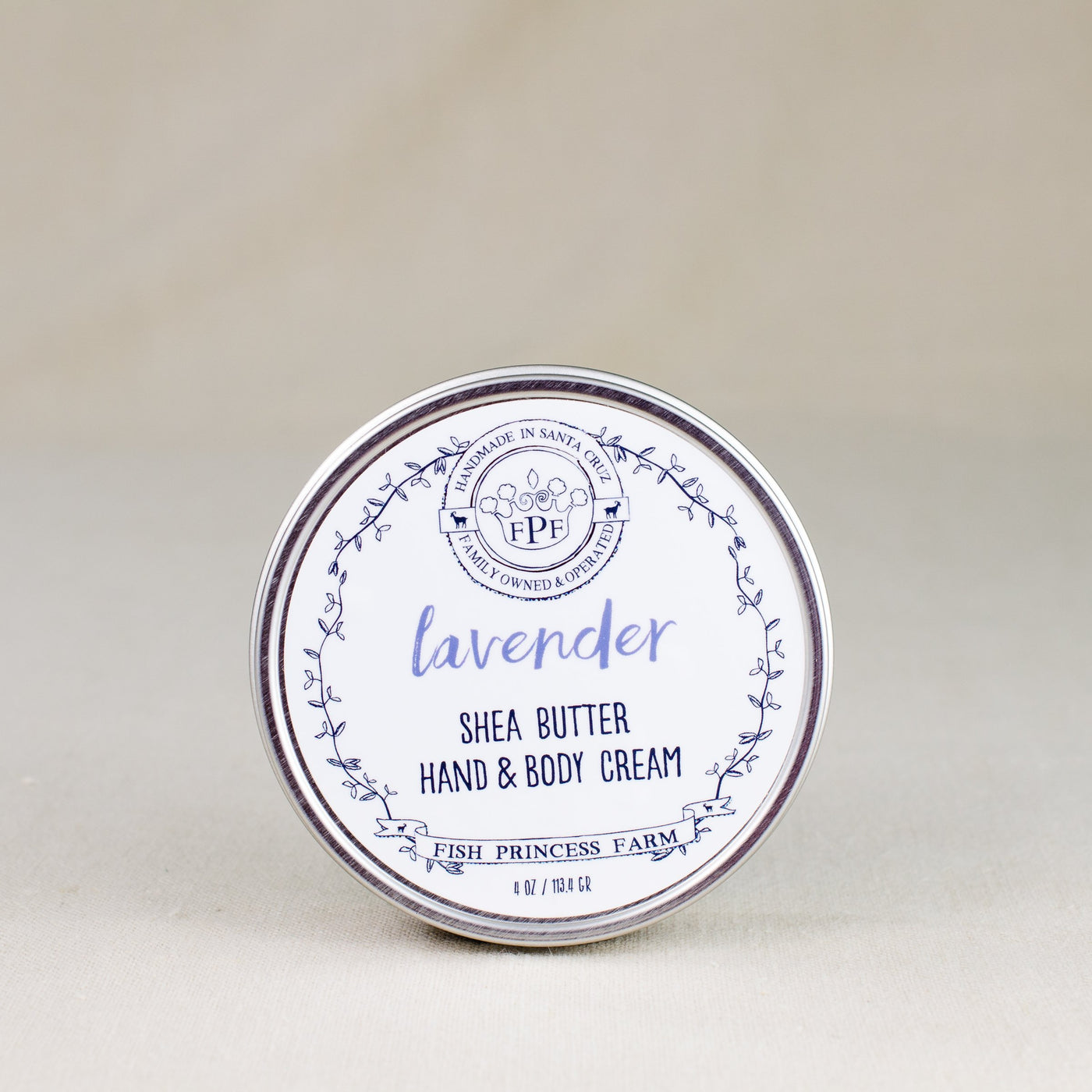 lavender shea butter hand and body cream