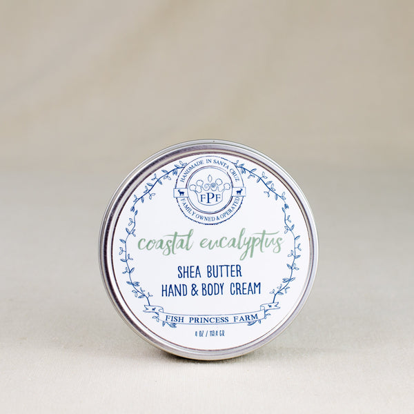 eucalyptus shea butter hand and body cream