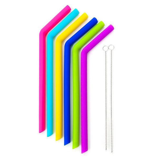 Silicone Straws (Extra Wide)