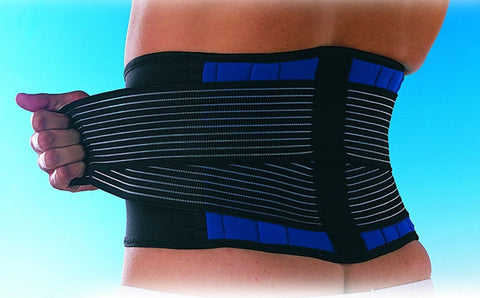 Double Pull Lumbar Support Belt