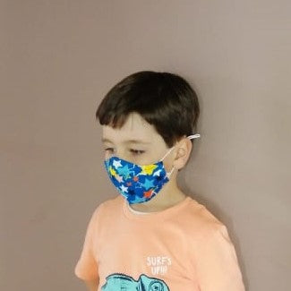 Kids Reusable Face Mask with Adjustable Ear Loops | Face Mask for Children | PPE