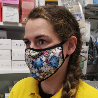 Reusable Face Mask | Natalie B Coleman | Designer Face Mask, PPE,