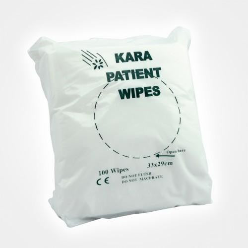 Kara Dry Patient Wipes ( minimum order x 4 packs) | PPE