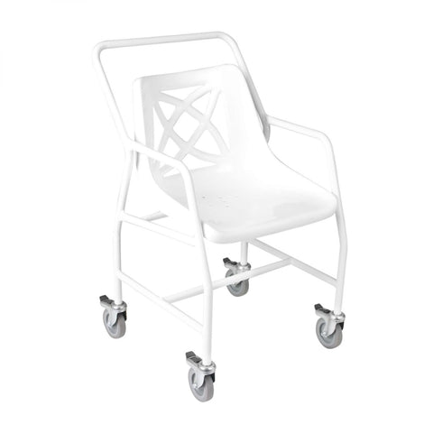 Shower Chair With Mobile Wheels