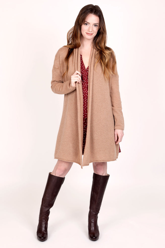 Load image into Gallery viewer, Cashmere Duster Cardigan
