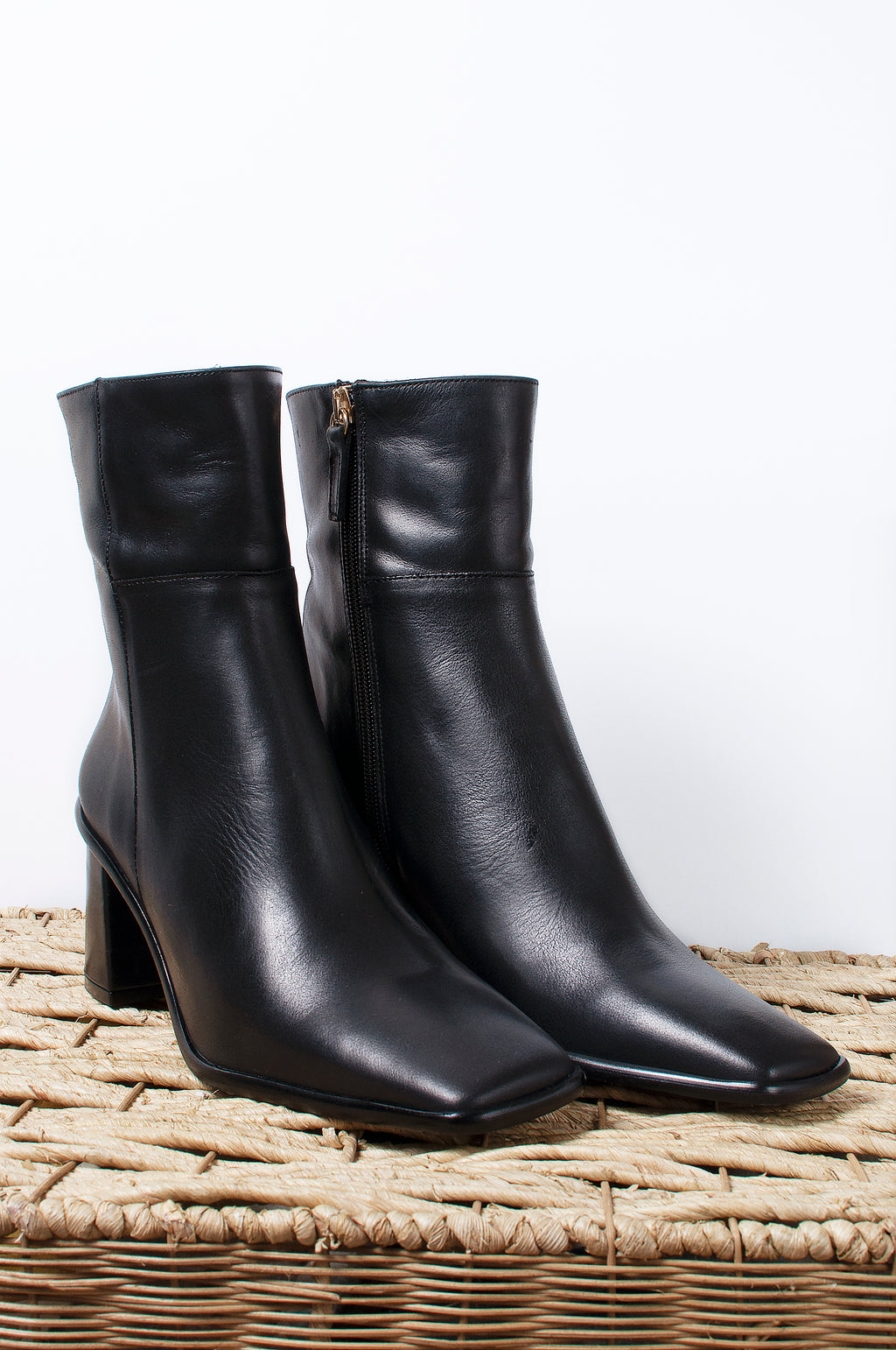 West Leather Ankle Boot