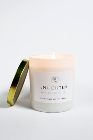 Load image into Gallery viewer, Enlighten Hand Poured Candle
