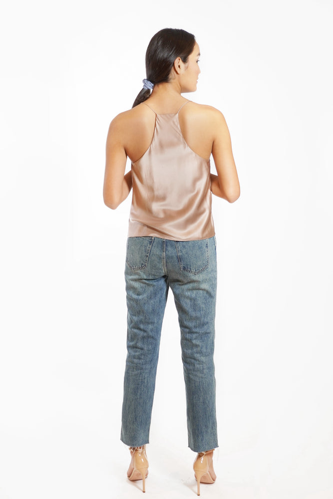 Load image into Gallery viewer, Aggie Silk Camisole