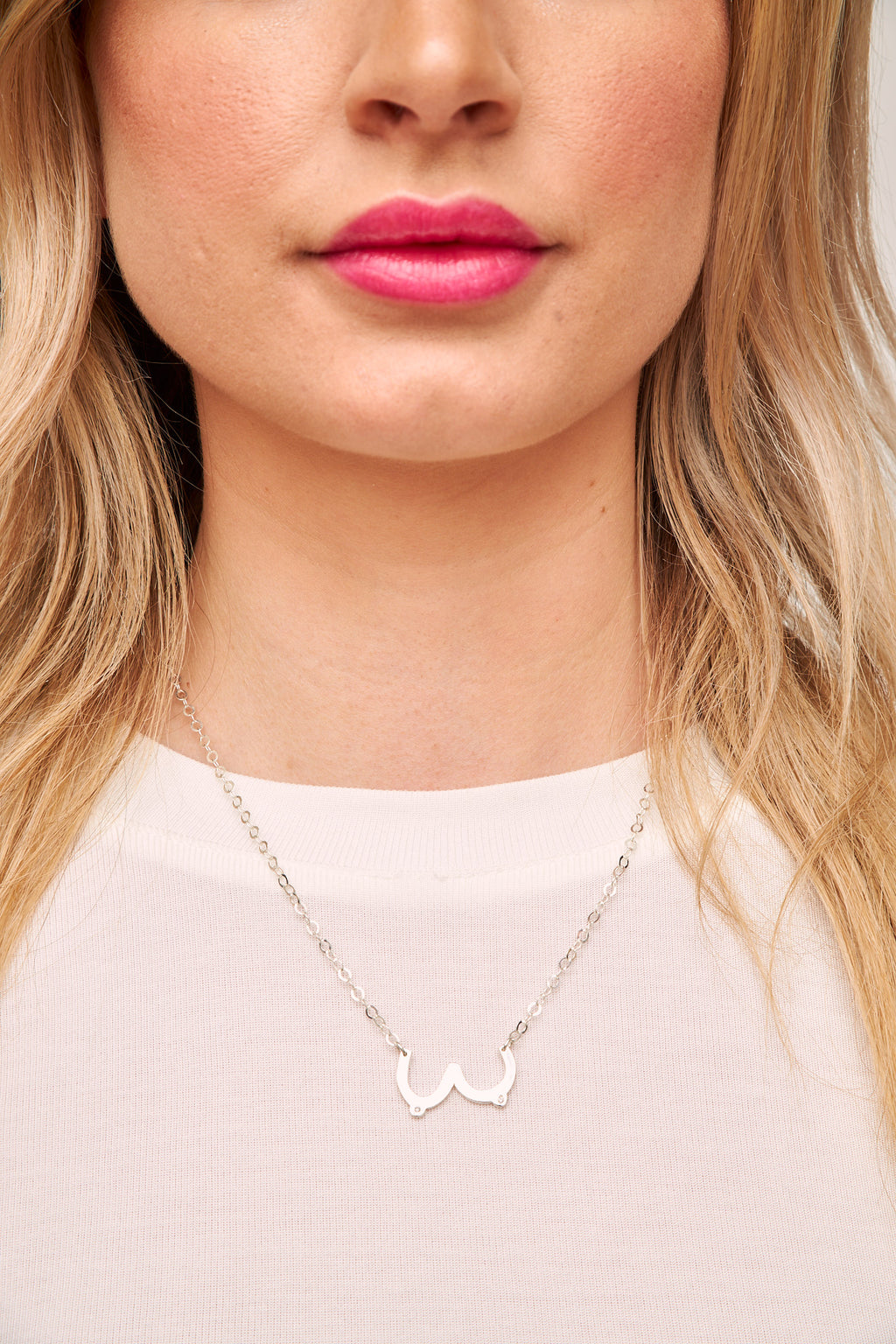 Juntas Sterling Silver Necklace by Martha Cristina
